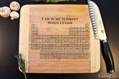 In My Element Personalized Cutting Board HDS