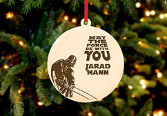Personalized Christmas Ornament - Star Wars