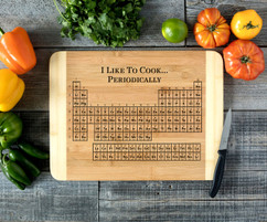 Periodically Personalized Cutting Board HDS