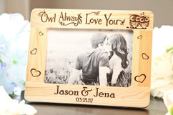Grpn Italy - Picture Frame - Owl Always Love you