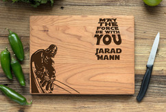 Cherry Personalized Cutting Board ~ Star Wars Darth Vader