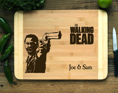 Walking Dead Personalized Cutting Board HDS