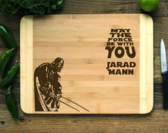 Star Wars Darth Vader Personalized Cutting Board HDS