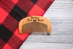 Personalized Comb - Fear My Beard