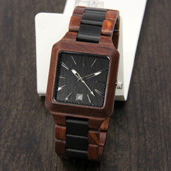 Wood Engraved Personalized Bamboo Watch W#78 - Forrest