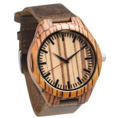 LUX - Personalized Watch W#76 - Zebrawood