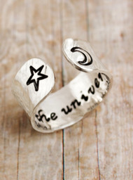 Trust the Universe Ring