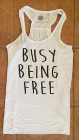 Busy Being Free Tank (L & XL Only)