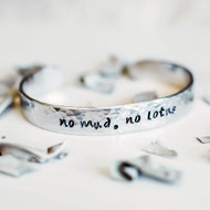 No Mud No Lotus Bracelet