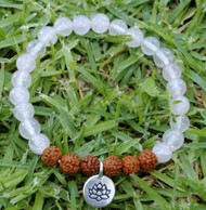 Lotus Rose Quartz Bracelet