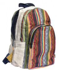 Colorful Hemp Backpack