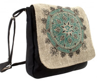 Om Mandala Messenger Bag