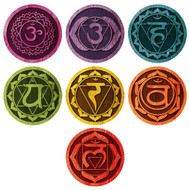 7 Chakra Wall Decals (1 Left)