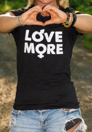 Love More Tee (S & M Left)