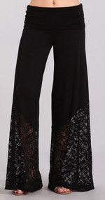 Lacey Palazzo Pants (S & 2X Left)