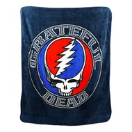 Steal Your Face Grateful Dead Throw Blanket