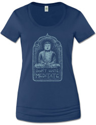 Don't Hate Meditate Tee (S, L, & XL Left)
