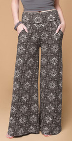 Organic Dark Star Flare Pants