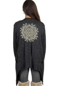 Flower of Life Cardigan
