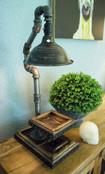 Lamp w/Small Shelf