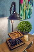 Lamp W/Shelf