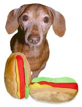 Hot Dog Dog Toy