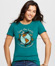 Planet Dachshund T-Shirt Save the Earth It's the Only Planet with Dachshunds