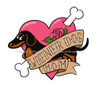 Wiener Dog Mom Tattoo Dachshund T-Shirt