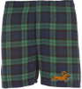 Dachshund Boxer Shorts Blackwatch Plaid