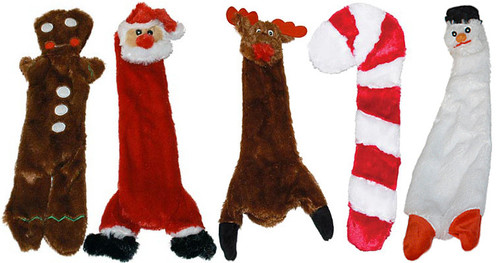 UnStuffies Christmas Dog Toys