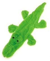 Unstuffies Alligator Dog Toy
