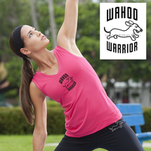 Dachshund Wahoo Warrior Essential V-Neck Sport Tank