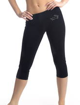 Dachshund Wahoo Warrior Fit & Fab Capris