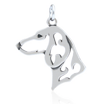 Dachshund Jewelry Sterling Silver Necklace