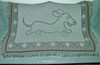 Wahoo Wiener Dachshund Throw Blanke