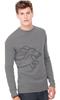 Dachshund Thermal Shirt Gray