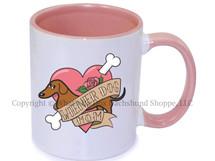 Dachshund Wiener Dog Mom Coffee Mug