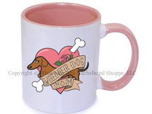 Wiener Dog Mom Coffee Mug