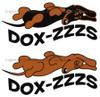 Dox-Zzzs Dachshund Pajamas
