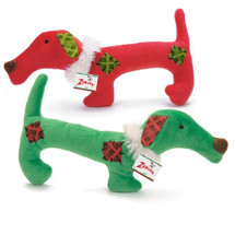 Dachshund Christmas Dog Toy