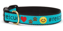 #rescue dog collar