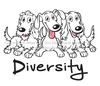 Dachshund Diversity Hoodie