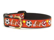 Sports Balls Dog Collar
