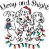 Dachshund Christmas Mug Merry & Bright