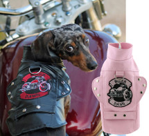 Dachshund Biker Dawg Dog Jacket