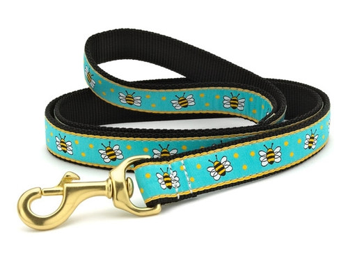 Dachshund Bees Dog Collar and Leash