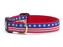Dachshund Stars and Stripes USA Patriotic Dog Collar and Leash