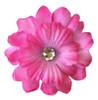 Dog Silk Collar Flowers Pink