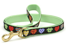 Hearts Abound Dog Leash