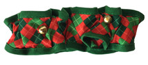 Christmas Scrunchie Dog Collar